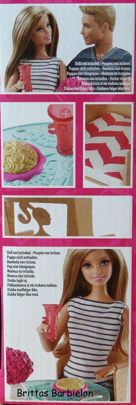 Barbie Dinner Date Set (Mattel, 2014)