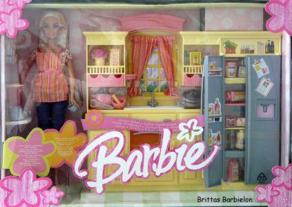 Play All Day - Barbie Küche Mattel 2004 G8499 Bild #01