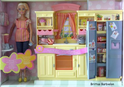 Play All Day - Barbie Küche Mattel 2004 G8499 Bild #05