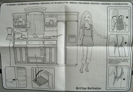 Play All Day - Barbie Küche Mattel 2004 G8499 Bild #09