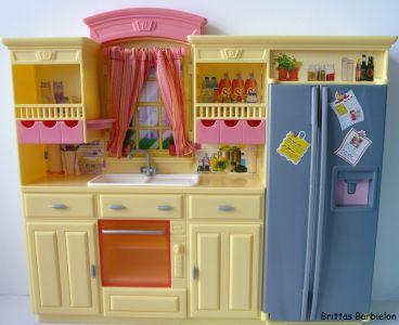 Play All Day - Barbie Küche Mattel 2004 G8499 Bild #17