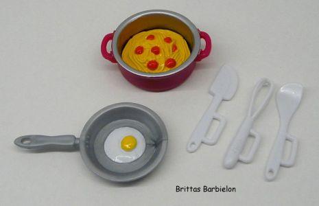 Deluxe Möbel - Barbie Kitchen (türkis) Mattel 2006