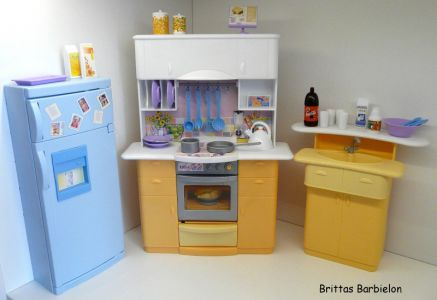 Barbie Light up Kitchen Mattel 1999 -67238 Bild #01