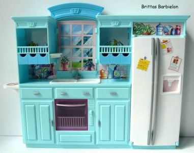Barbie Living in Style Kitchen Playset Mattel 2002 Bild #02