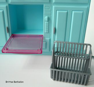 Barbie Living in Style Kitchen Playset Mattel 2002 Bild #05