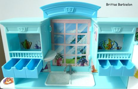 Barbie Living in Style Kitchen Playset Mattel 2002 Bild #06