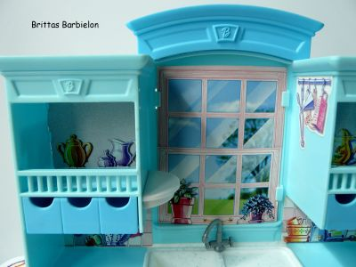Barbie Living in Style Kitchen Playset Mattel 2002 Bild #07