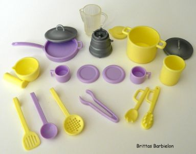 Barbie Living in Style Kitchen Playset Mattel 2002 Bild #14