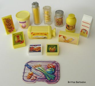 Barbie Living in Style Kitchen Playset Mattel 2002 Bild #16