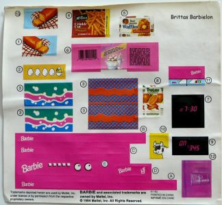 Barbie So much to do kitchen Mattel 1994 Bild #08
