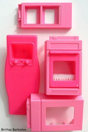 Barbie So much to do kitchen Mattel 1994 Bild #11