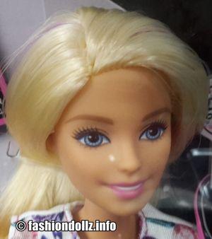 2017  D.I.Y. Crimps & Curls Barbie, blonde DWK49
