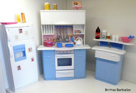 Barbie so real so now Kitchen Mattel 1998 Bild #01