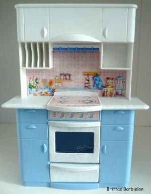 Barbie so real so now Kitchen Mattel 1998 Bild #05
