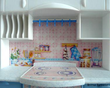 Barbie so real so now Kitchen Mattel 1998 Bild #07