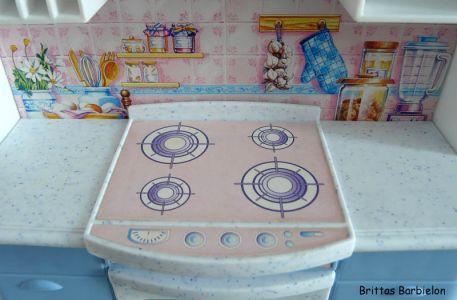 Barbie so real so now Kitchen Mattel 1998 Bild #08