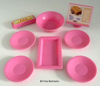 Barbie so real so now Kitchen Mattel 1998 Bild #11
