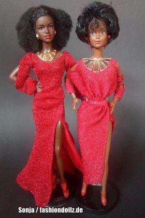 2020          Black Barbie & 1980 Black Barbie #1293