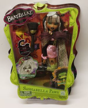 Bratzillaz first Edition - Sashabella Paws