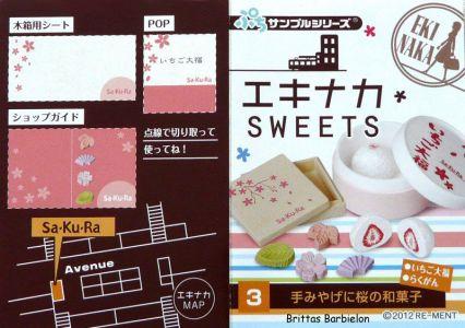 Eki Naka Sweets Re-Ment #09