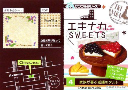 Eki Naka Sweets Re-Ment #12