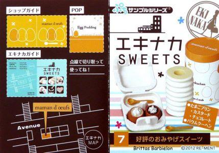 Eki Naka Sweets Re-Ment #18