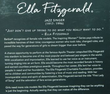 Ella Fitzgerald   Barbie