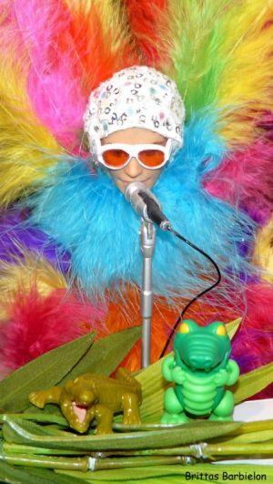 Elton John - Crocodile Rock OOAK - Bild 10
