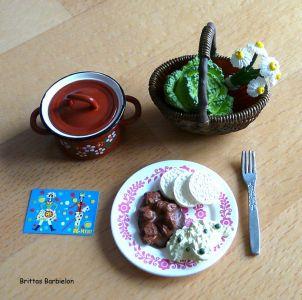 European Grandmas Delicious Dishes Re-ment Bild #13