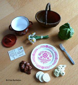 European Grandmas Delicious Dishes Re-ment Bild #14