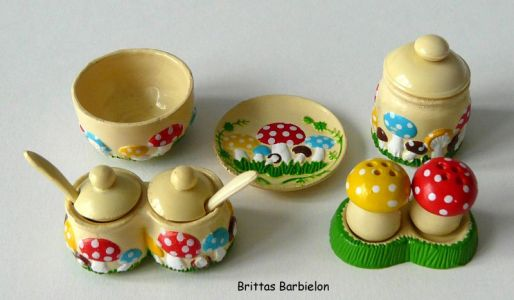 Fairytale tableware Re-ment Bild #21