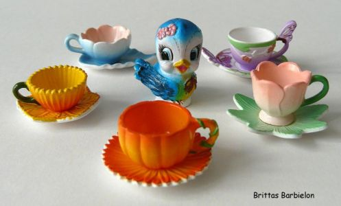 Fairytale tableware Re-ment Bild #33