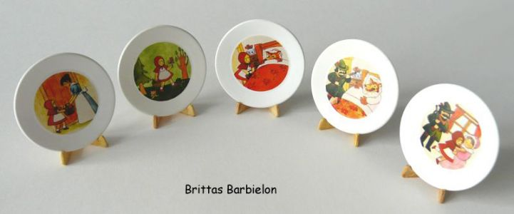 Fairytale tableware Re-ment Bild #60