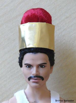 Freddie Mercury - God save the Queen - OOAK - Bild 10