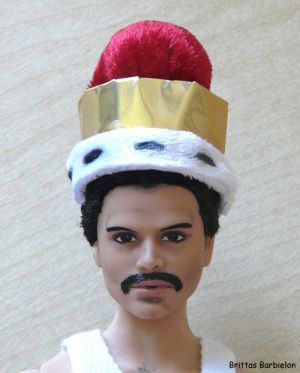 Freddie Mercury - God save the Queen - OOAK - Bild 11