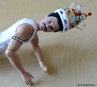 Freddie Mercury - God save the Queen - OOAK - Bild 12
