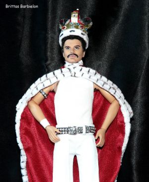 Freddie Mercury - God save the Queen - OOAK - Bild 15