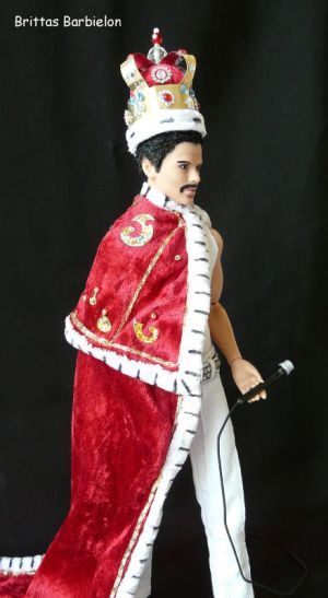 Freddie Mercury - God save the Queen - OOAK - Bild 17