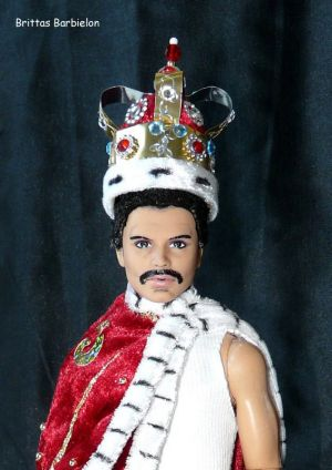 Freddie Mercury - God save the Queen - OOAK - Bild 19