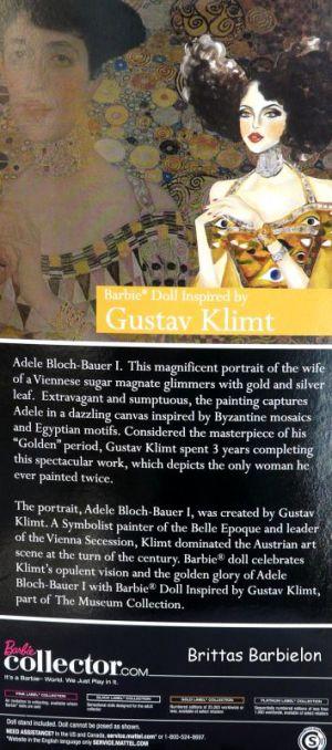 Gustav Klimt Barbie Bild #02