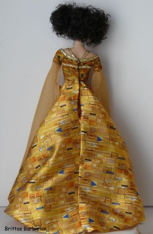Gustav Klimt Barbie Bild #06
