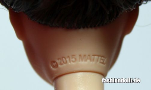 2016 Fashionistas - Wave 2 #30 White & Pink Pizzazz (Tall) DMF32 - Headmold