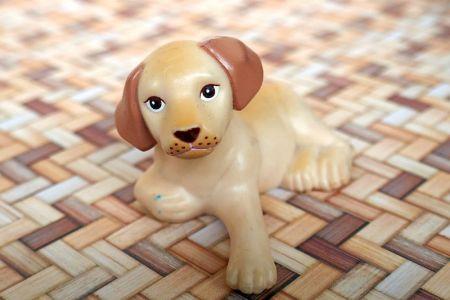 1999 Decor Collection - Armchair, Stool & Dog  #20805