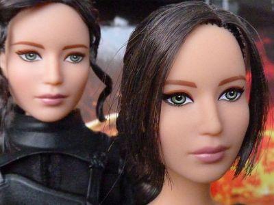 Jennifer Lawrence as Katniss, Mockingjay II & Catching Fire
