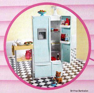 Deluxe Möbel - Kühlschrank und Servierwagen Mattel 2006 Bild #03