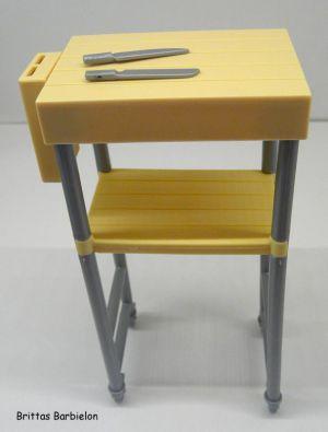Deluxe Möbel - Kühlschrank und Servierwagen Mattel 2006 Bild #05