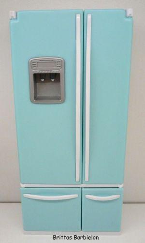 Deluxe Möbel - Kühlschrank und Servierwagen Mattel 2006 Bild #13