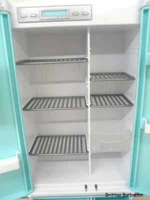 Deluxe Möbel - Kühlschrank und Servierwagen Mattel 2006 Bild #15