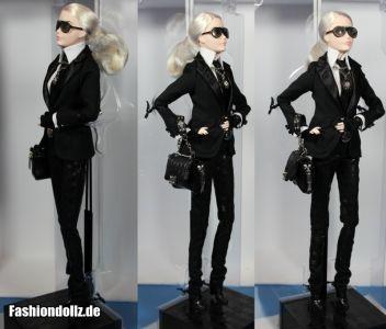 Karl Lagerfeld Barbie - von allen Seiten