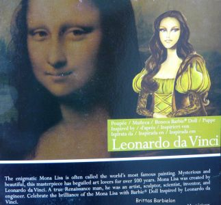 Leonardo da Vinci Barbie Bild #04